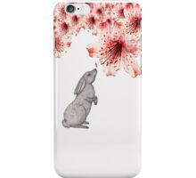 Smelling the Flowers iPhone Case/Skin