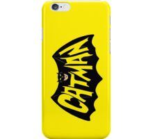 CatMan iPhone Case/Skin