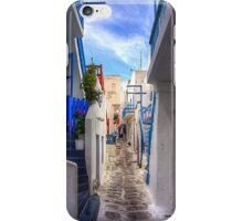 Steps off the Lane iPhone Case/Skin