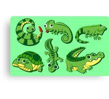 Reptiles Canvas Print