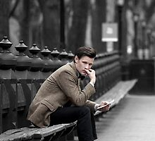 Eleventh Doctor in Central Park by Themaninthefez