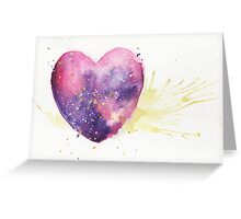 Galaxy Heart! Greeting Card