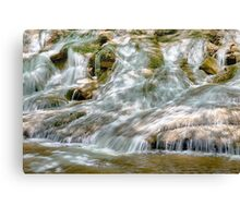 Flowing Down Canvas Print