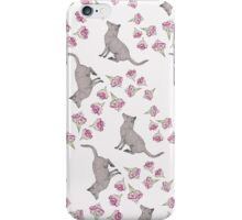 Visiting the Flowers (pattern) iPhone Case/Skin
