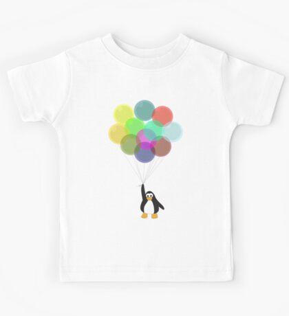Penguin & Balloons Kids Tee