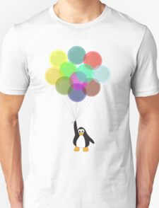 Penguin & Balloons Unisex T-Shirt
