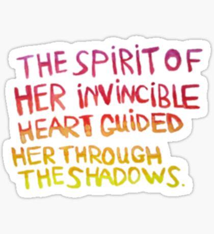 Ursula Buendia Sticker