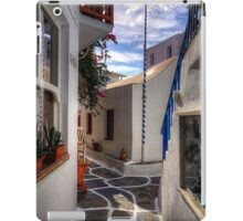 Empty Flagpole iPad Case/Skin