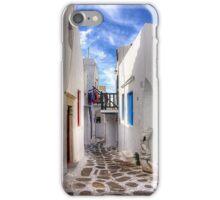 Mykonos Lane iPhone Case/Skin
