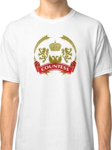 The Countess Coat-of-Arms     Classic T-Shirt