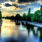 River Ouse At York by Andrew Pounder