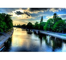 River Ouse At York Photographic Print