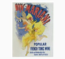 Vintage poster - French Wine Baby Tee