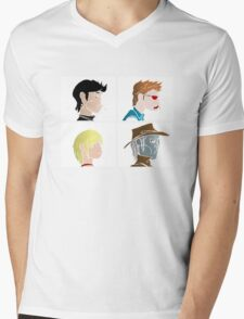 PREACHA Mens V-Neck T-Shirt