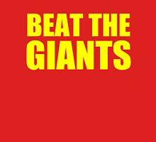 San Francisco 49ers - BEAT THE GIANTS - Gold text Unisex T-Shirt