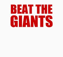 San Francisco 49ers - BEAT THE GIANTS - Red Text Unisex T-Shirt
