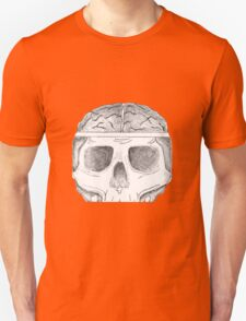Skull and Brain Unisex T-Shirt