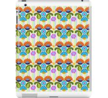 Paisley, Fantasy Flowers & Stripe patterns case iPad Case/Skin