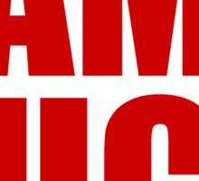 San Francisco 49ers - RAMS SUCK - Red Text Sticker