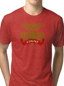 The Count Coat-of-Arms Tri-blend T-Shirt
