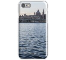 Mediterranean Silk - Valletta, Malta Skyline iPhone Case/Skin