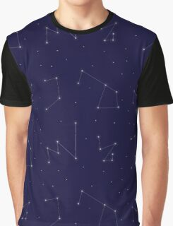 Constellations Pattern Graphic T-Shirt