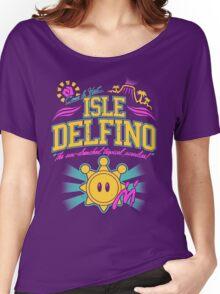 Isle Delfino Women's Relaxed Fit T-Shirt