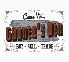 Come Visit Gunners Den - Light Kids Tee