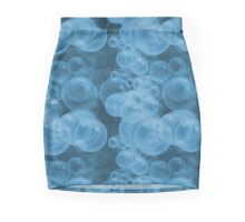 Small Sky Indigo Blue Purple Water Air Bubbles Mini Skirt