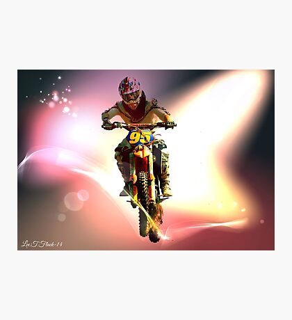 Motor cross Photographic Print