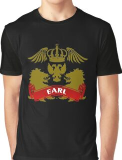 The Earl Coat-of-Arms Graphic T-Shirt