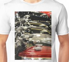 Petrol Tanks all in a row Unisex T-Shirt