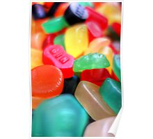 Sweets 02 - Wine Gums | GIN Poster