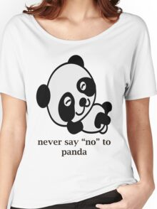 lazy panda Women's Relaxed Fit T-Shirt