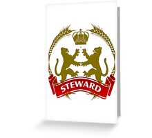 The Steward Coat-of-Arms Greeting Card