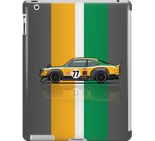 Mazda Savanna GT RX3 Racing Yoshimi Katayama (1975) iPad Case/Skin
