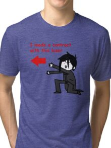 Yes my loser Tri-blend T-Shirt