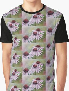 PINK CONE / DAISY FLOWER Graphic T-Shirt