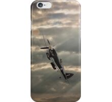 Spitfire Stormy Sky  iPhone Case/Skin