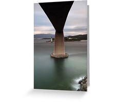 Skye Bridge at Sunset Greeting Card