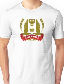 The Sherriff Coat-of-Arms Unisex T-Shirt