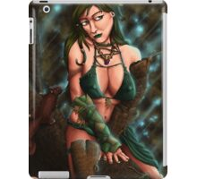 The Druid and the Squirrel iPad Case/Skin