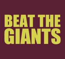 Washington Redskins - BEAT THE GIANTS - Yellow text by MOHAWK99