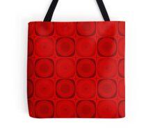 Retro Red Tote Bag