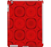 Retro Red iPad Case/Skin