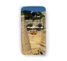 Maltese Knights Legacy - Valletta City Walls Cafe Open for Business Samsung Galaxy Case/Skin