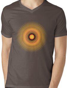 Central Sun Mens V-Neck T-Shirt