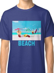 Chili Peppers On The Beach Classic T-Shirt