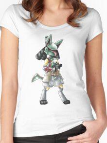 Luca Fett Women's Fitted Scoop T-Shirt