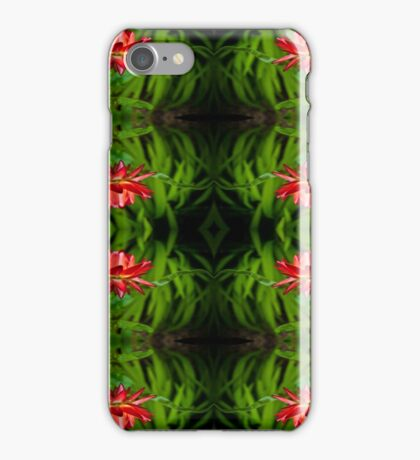 Flowers of red iPhone Case/Skin